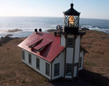 Photo of Point Cabrillow Light House.